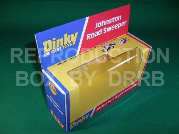 Dinky #449 Johnston Road Sweeper - Reproduction Box